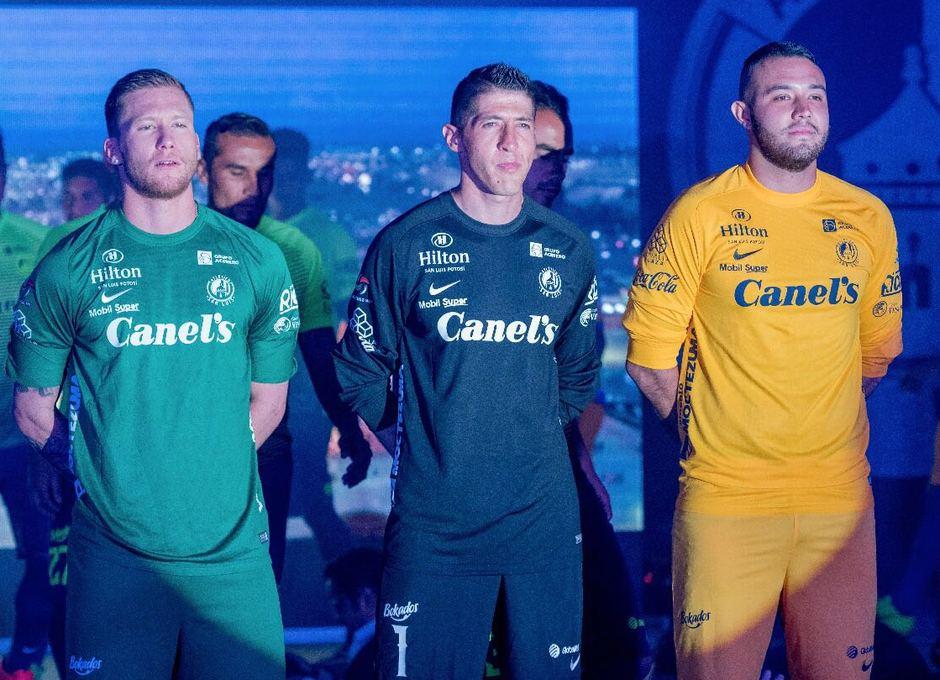 Presentación Atlético de San Luis 2017-2018. Porteros