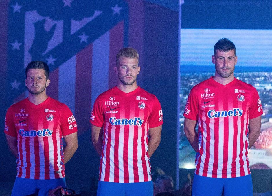 Presentación Atlético de San Luis 2017-2018. Borja González