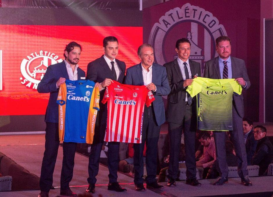 Presentación Atlético de San Luis 2017-2018. Equipaciones