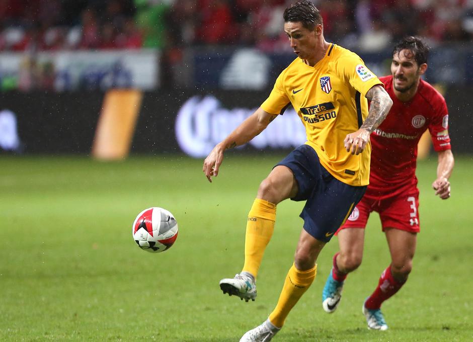 Temp. 17-18 | Partido amistoso en México ante el Toluca. Torres