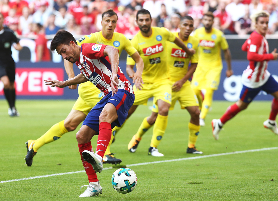 Audi Cup 2017 | Atlético de Madrid - Nápoles. Gaitán