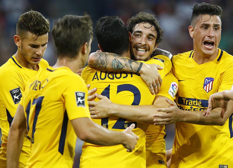 Audi Cup 2017 | Liverpool - Atlético de Madrid | Celebración