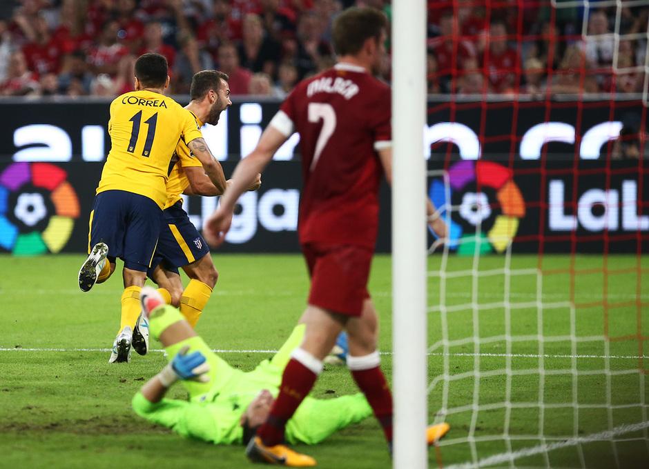 Audi Cup 2017 | Liverpool - Atlético de Madrid | Keidi