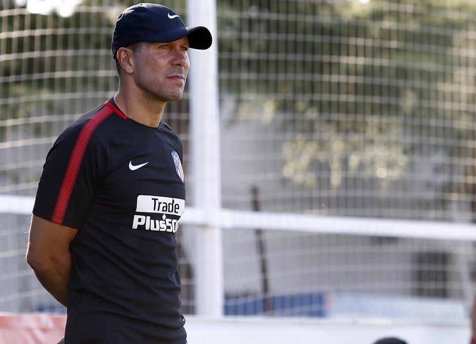 Temporada 2017-18. Entrenamiento 03/08/2017 | Simeone