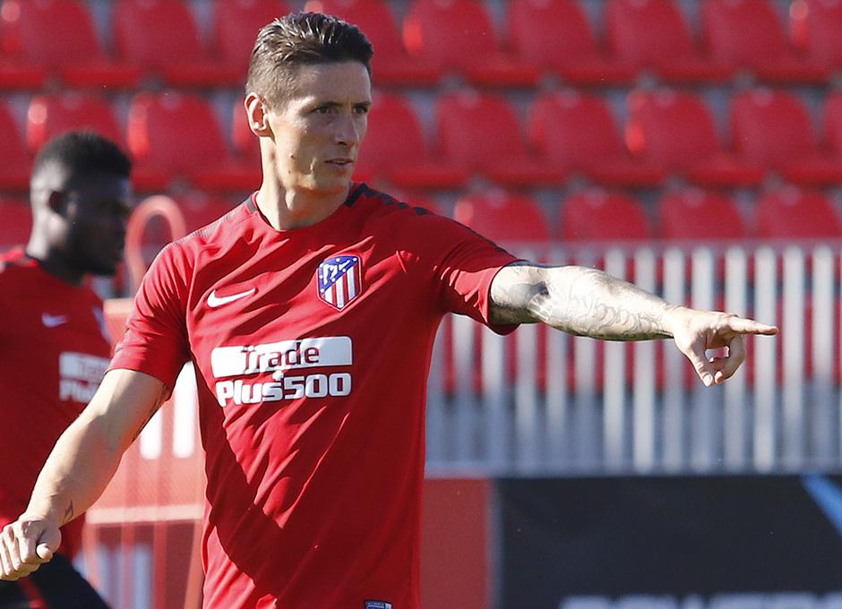 Temporada 2017-18. Entrenamiento 03/08/2017 | Fernando Torres