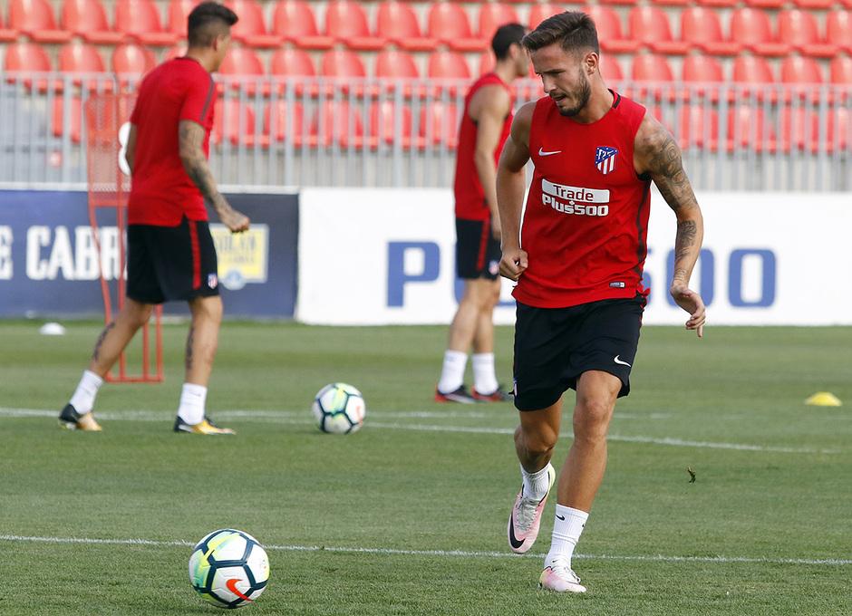 Temporada 16/17 | 04/08/2017 | Entrenamiento en la Ciudad Deportiva Wanda | Saul