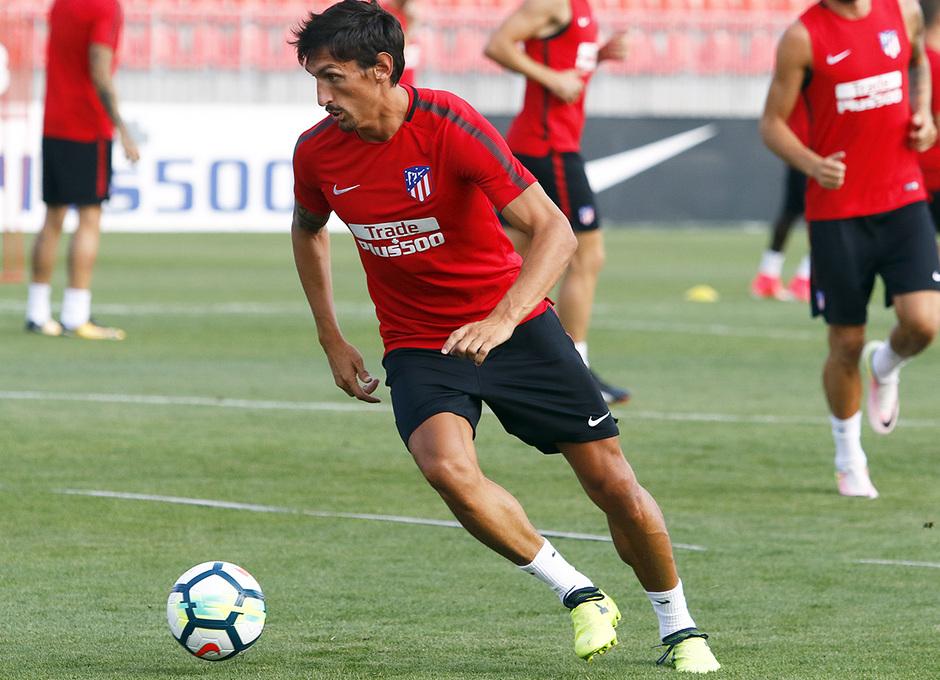 Temporada 16/17 | 04/08/2017 | Entrenamiento en la Ciudad Deportiva Wanda | Savic