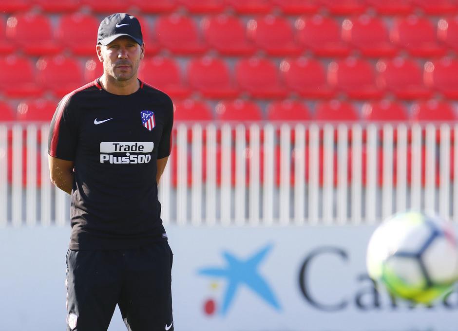 Temporada 17/18 | Entrenamiento en la Ciudad Deportiva Wanda. 05_08_2017. Simeone.