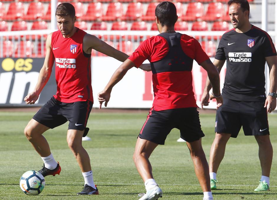 Temporada 17/18 | Entrenamiento en la Ciudad Deportiva Wanda. 05_08_2017. Gabi.