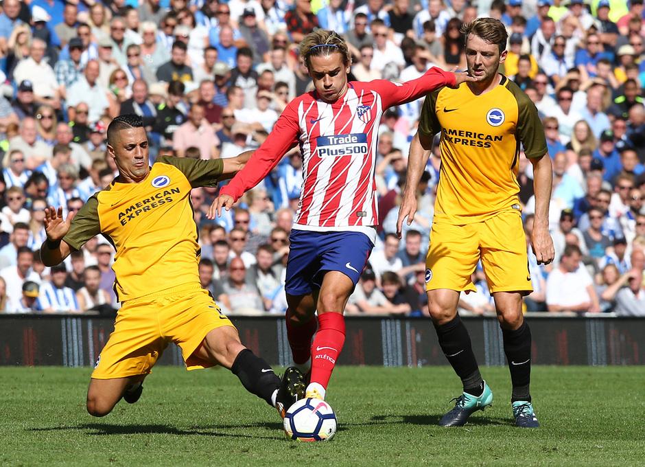 Amistoso | Brighton - Atlético de Madrid. Griezmann