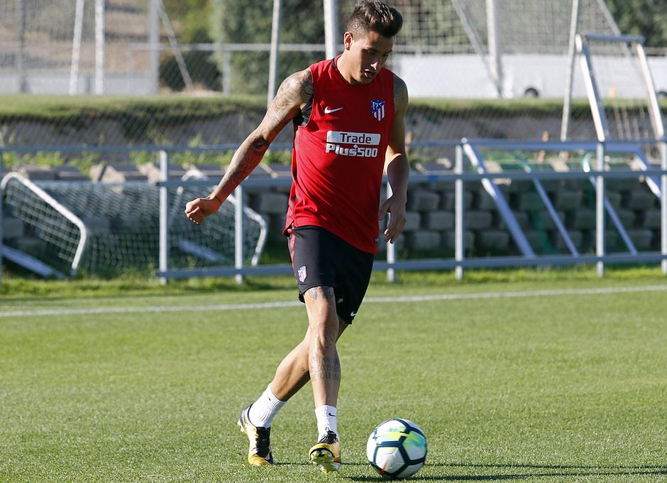 08/08/2017 | Entrenamiento en la Ciudad Deportiva Wanda | Giménez