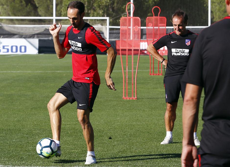 08/08/2017 | Entrenamiento en la Ciudad Deportiva Wanda | Juanfran