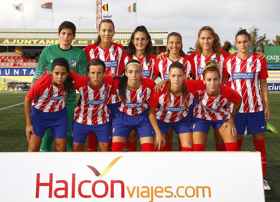 COTIF - Atlético de Madrid Femenino vs Marruecos.