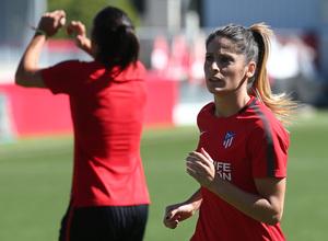 Temp. 17-18 | Atlético de Madrid Femenino entrenamiento internacionales