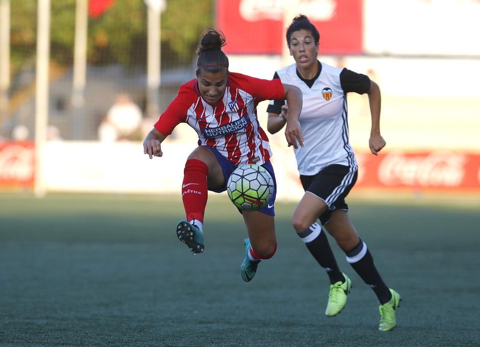 COTIF | Atlético de Madrid - Valencia Femenino. Carla.