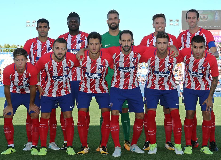 Temp. 17-18 | Amistoso | Leganés - Atlético de Madrid. Once
