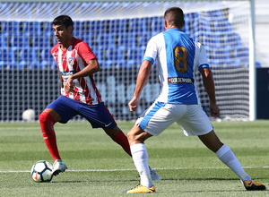 Temp. 17-18 | Amistoso | Leganés - Atlético de Madrid. Augusto