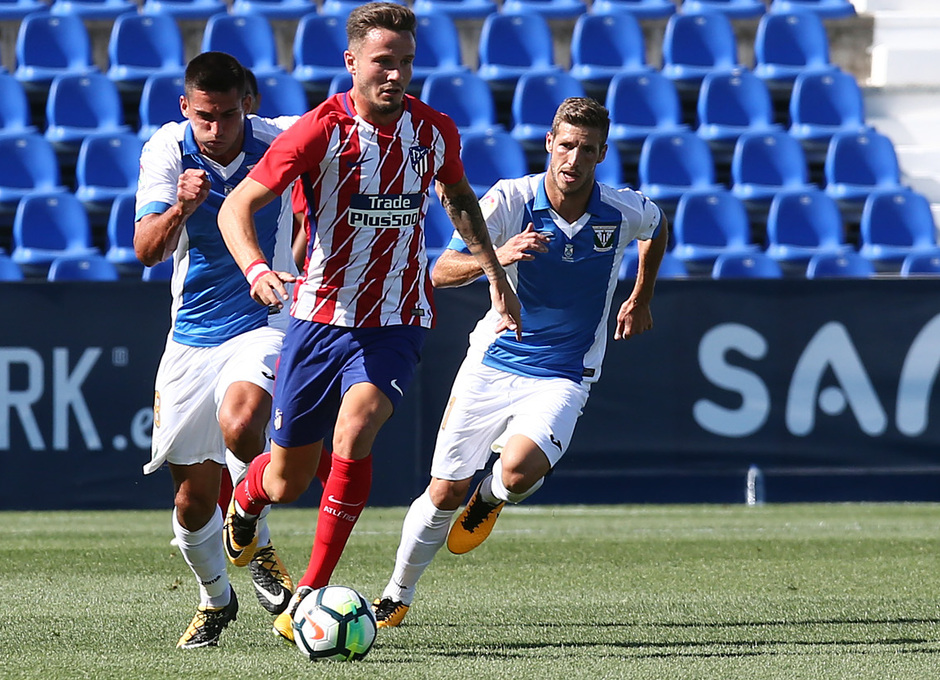 Temp. 17-18 | Amistoso | Leganés - Atlético de Madrid. Saúl