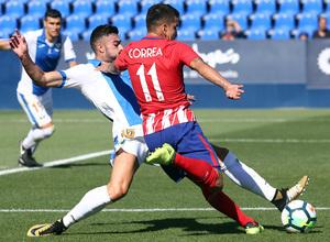 Temp. 17-18 | Amistoso | Leganés - Atlético de Madrid. Correa