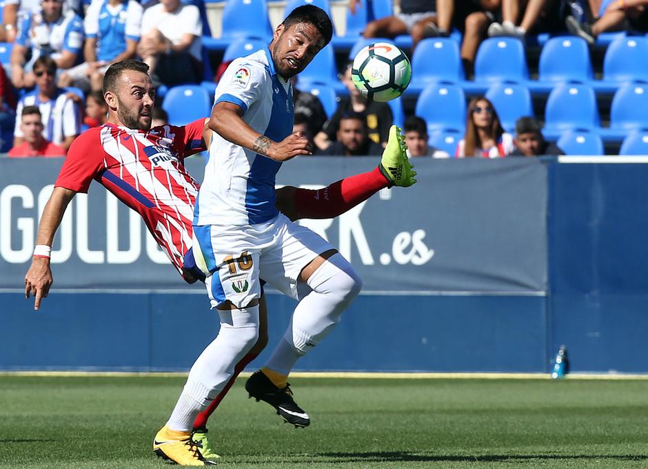 Temp. 17-18 | Amistoso | Leganés - Atlético de Madrid. Keidi