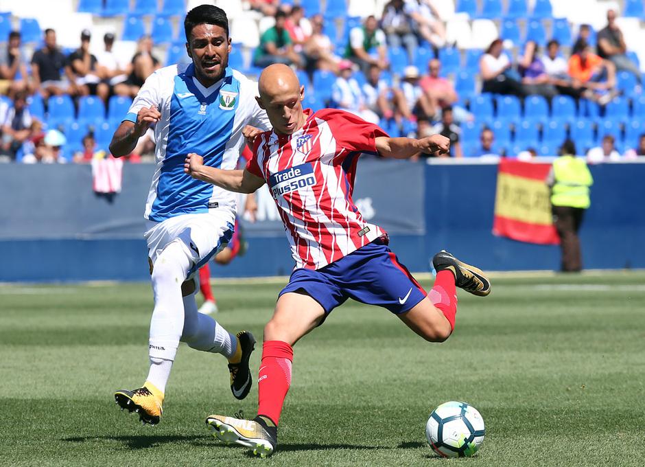 Temp. 17-18 | Amistoso | Leganés - Atlético de Madrid. Víctor Mollejo