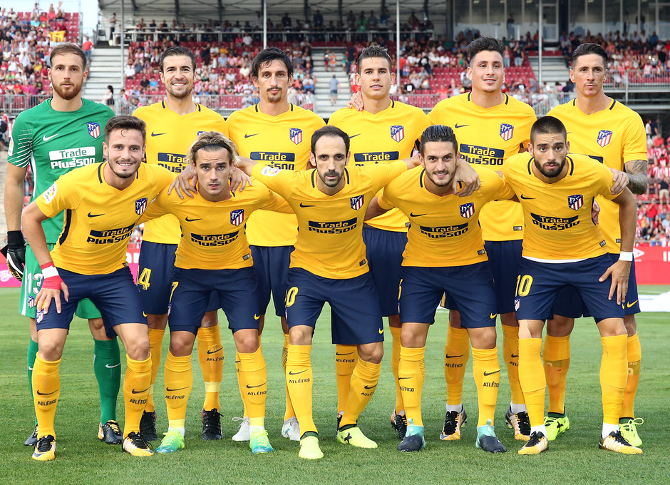 Temp. 17-18   Girona - Atlético de Madrid   Once