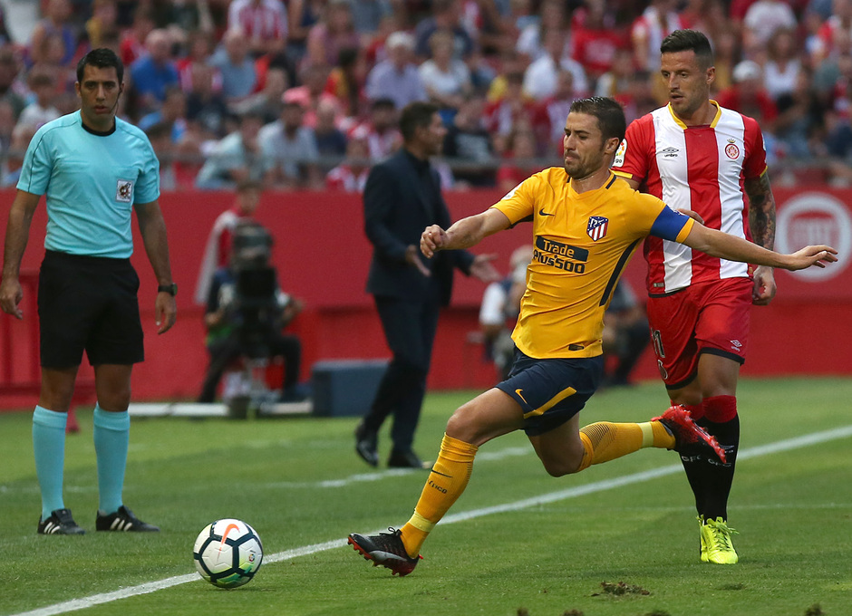 Temp. 17-18   Girona - Atlético de Madrid   Gabi