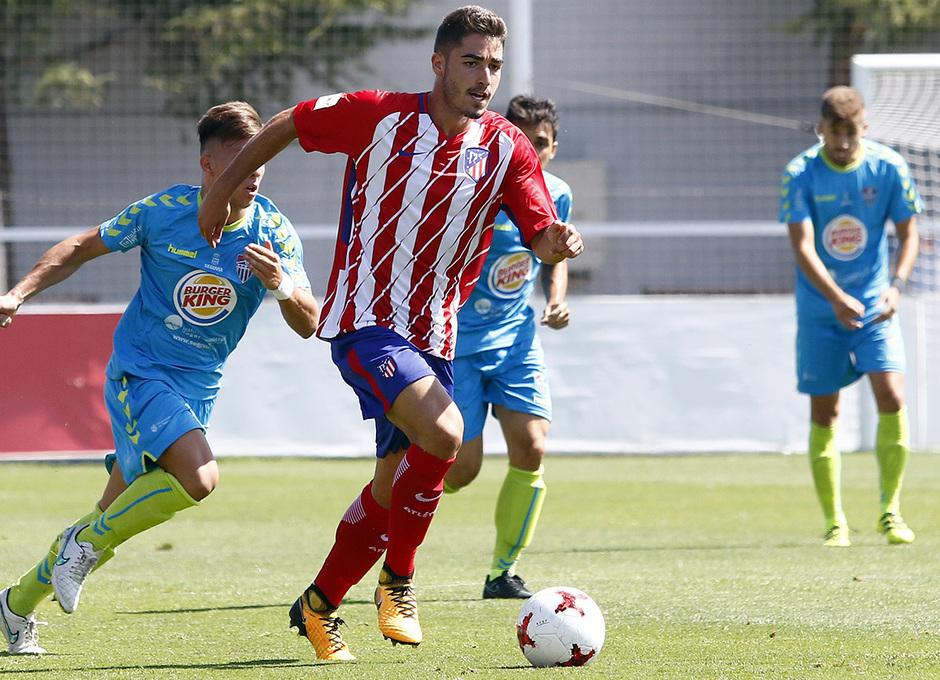 Segunda B | Atlético de Madrid B - Gimnástica Segoviana. Moya