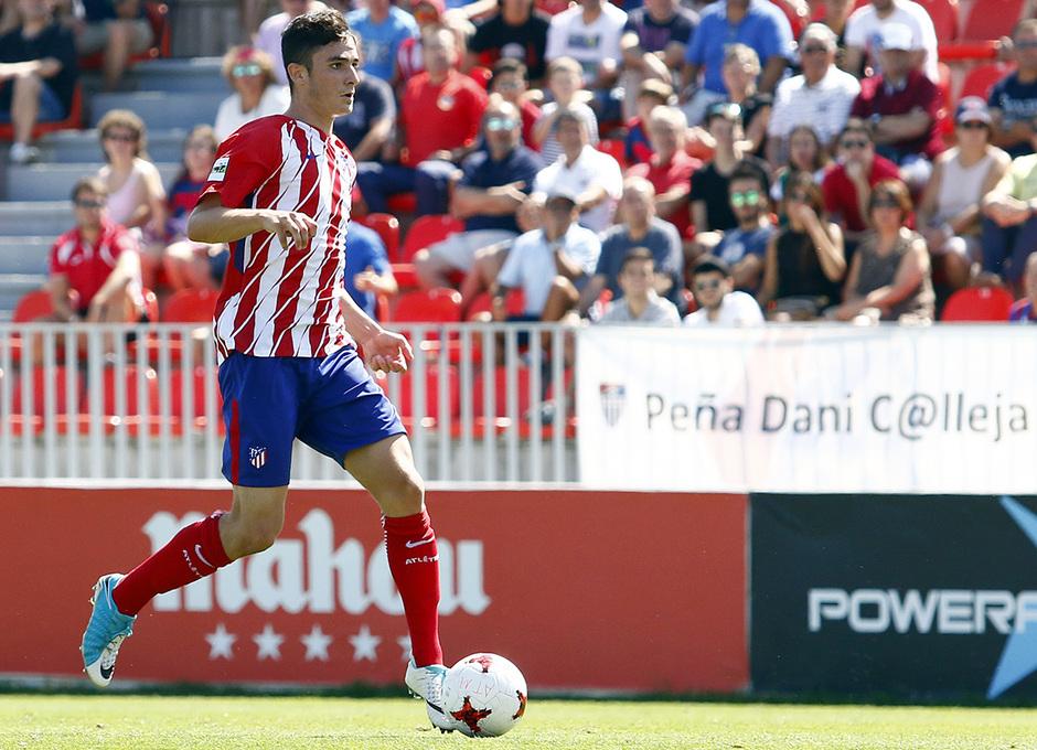 Segunda B | Atlético de Madrid B - Gimnástica Segoviana. Rubén Fernández