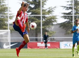 Segunda B | Atlético de Madrid B - Gimnástica Segoviana. Solano
