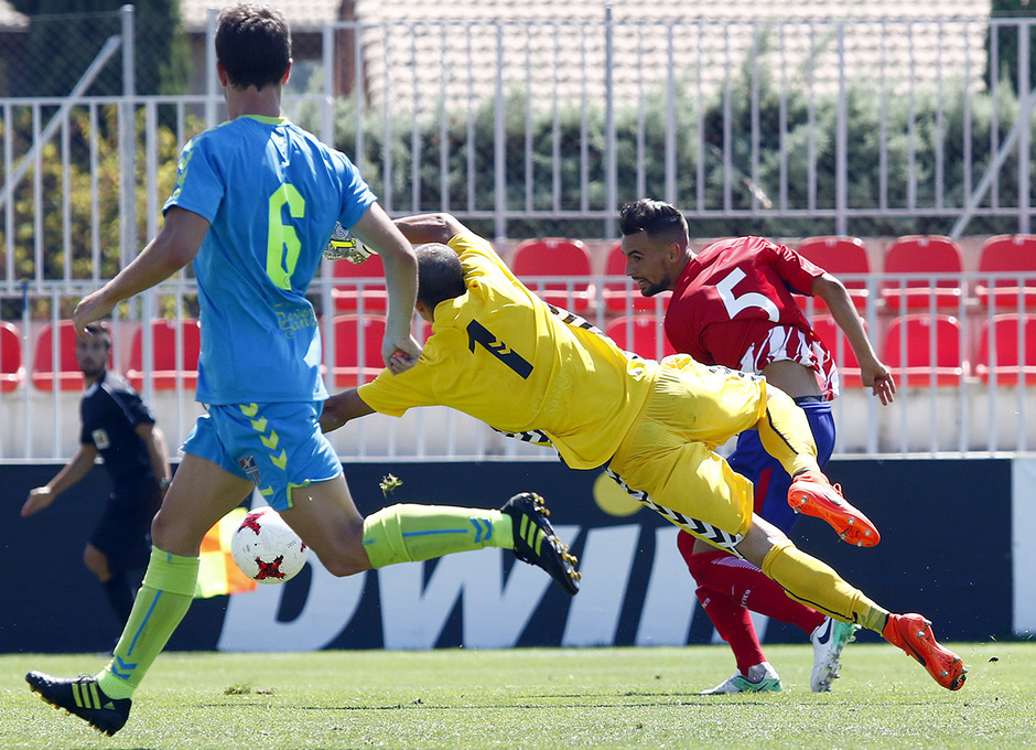 Segunda B | Atlético de Madrid B - Gimnástica Segoviana. Rafa