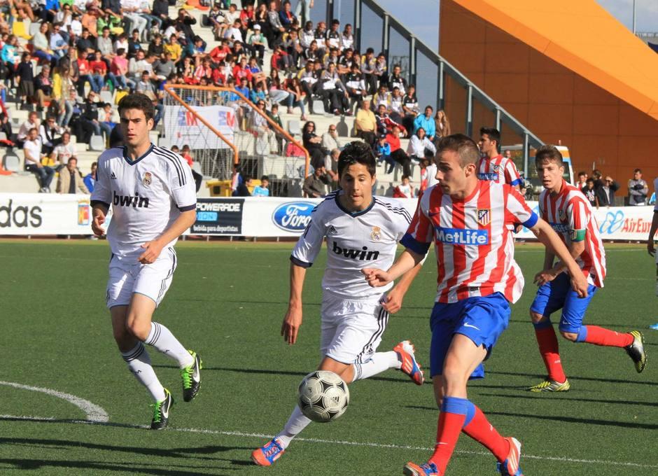 El Atlético de Madrid Juvenil LN eliminó al Real Madrid en la semifinal del Mundialito sub-17
