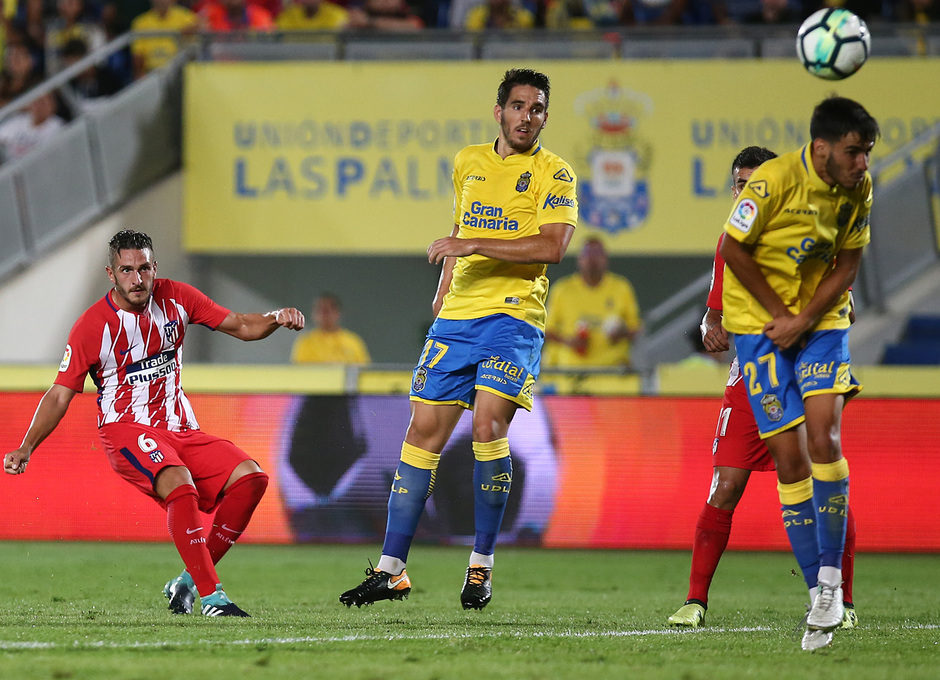 Temp. 17-18 | Las Palmas - Atlético de Madrid | Koke