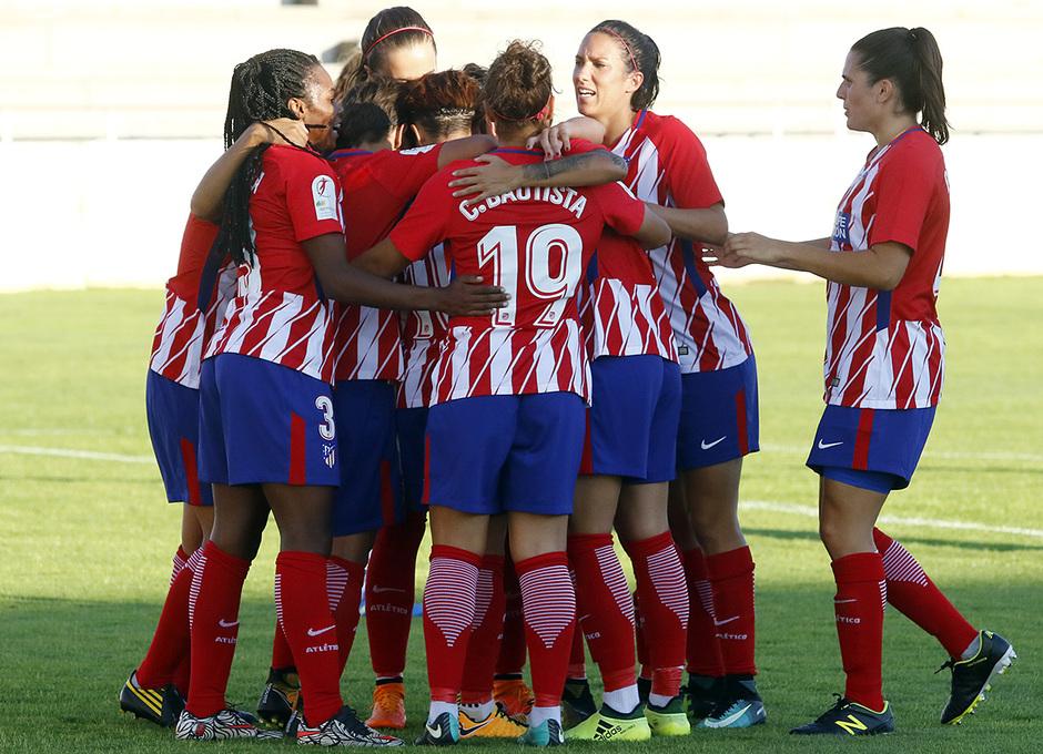 Temp. 2017-18 | Fundación Albacete - Atlético de Madrid Femenino | Celebración