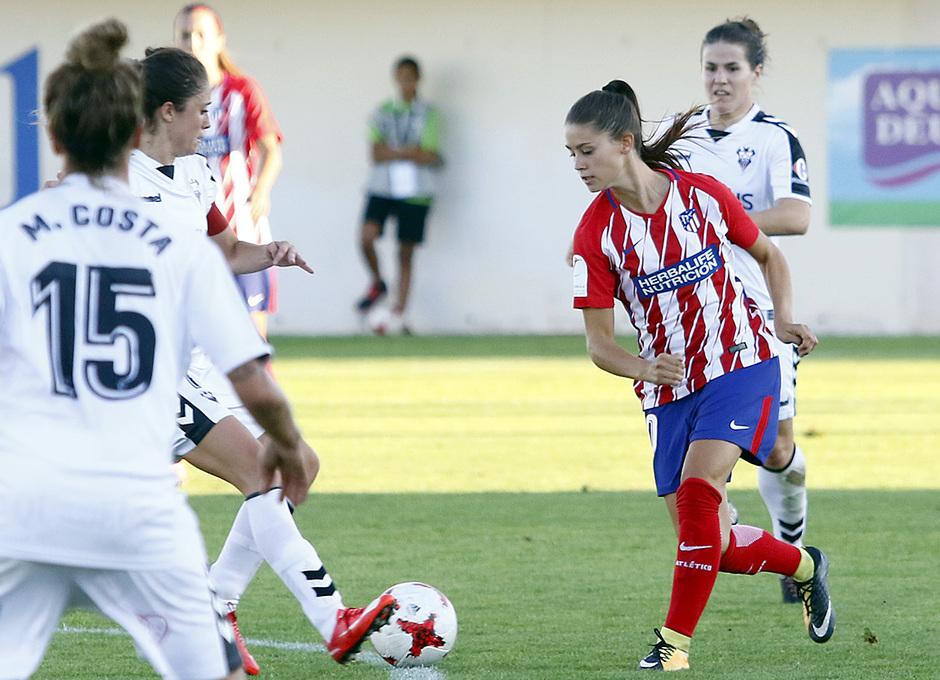 Temp. 2017-18 | Fundación Albacete - Atlético de Madrid Femenino | Viola