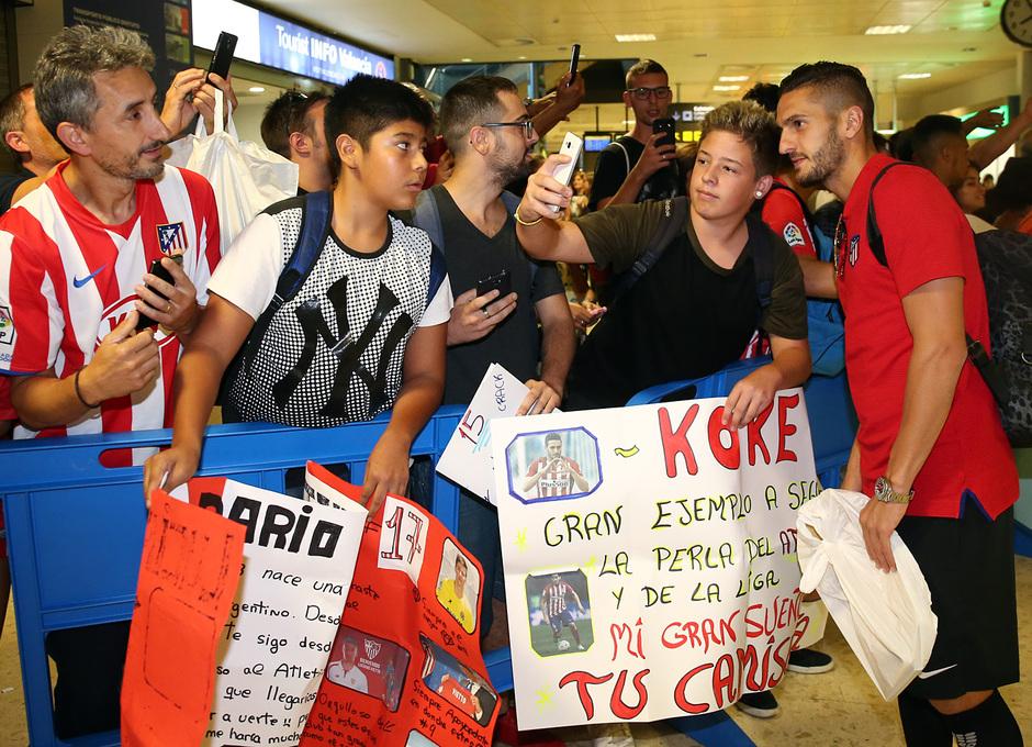 Temp. 17-18 | Llegada a Valencia | Koke