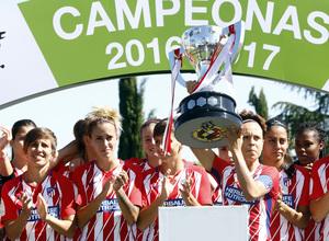 Temp. 17-18 | Atlético de Madrid Femenino - Real Sociedad | Campeonas liga