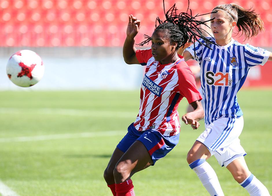 Temp. 17-18 | Atlético de Madrid Femenino - Real Sociedad | Ludmila