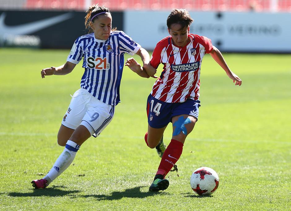 Temp. 17-18 | Atlético de Madrid Femenino - Real Sociedad | Corredera