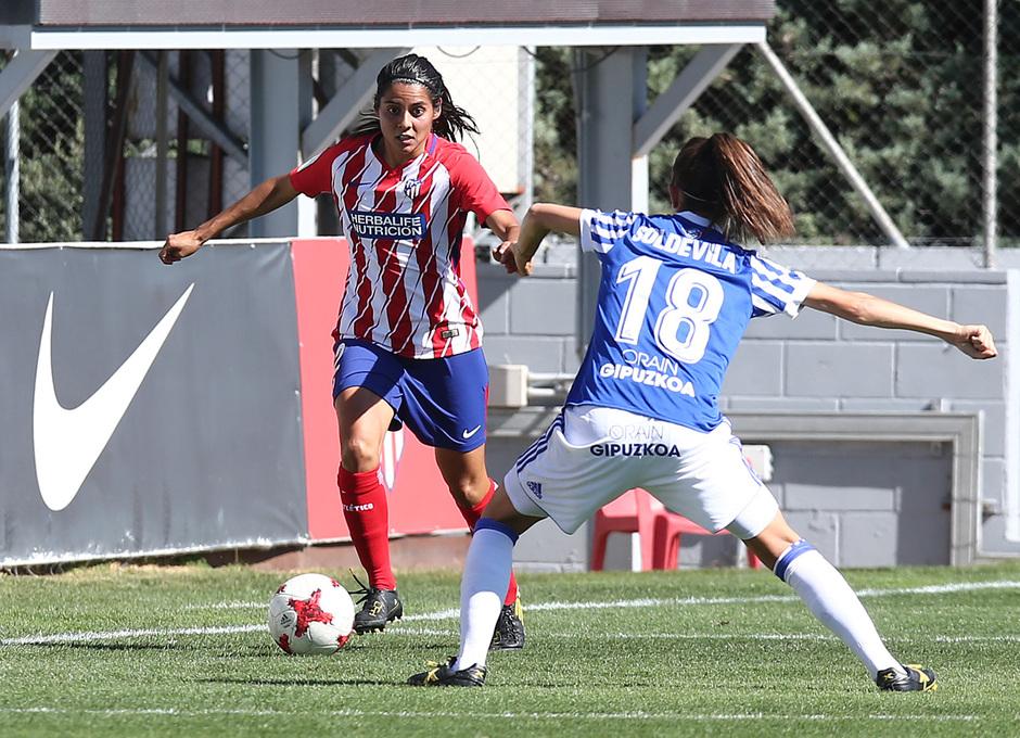 Temp. 17-18 | Atlético de Madrid Femenino - Real Sociedad | Kenti