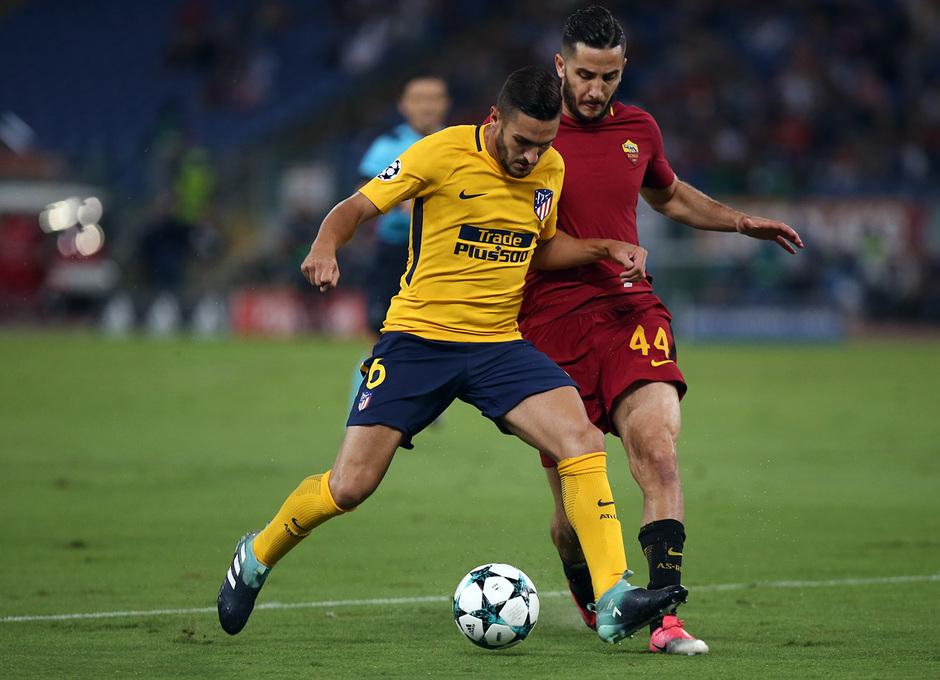 Temp. 17-18 | Roma- Atlético de Madrid | Koke