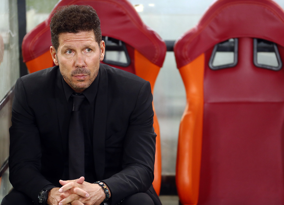 Temp. 17-18 | Roma- Atlético de Madrid | Simeone