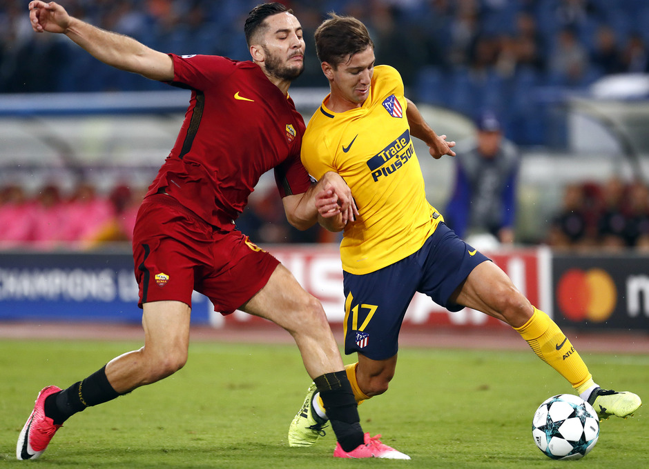 Temp. 17-18 | Roma- Atlético de Madrid | Vietto