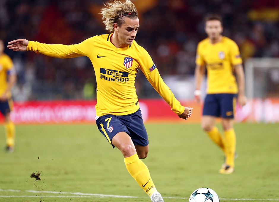 Temp. 17-18 | Roma- Atlético de Madrid | Griezmann