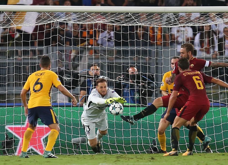 Temp. 17-18 | Roma- Atlético de Madrid | Oblak