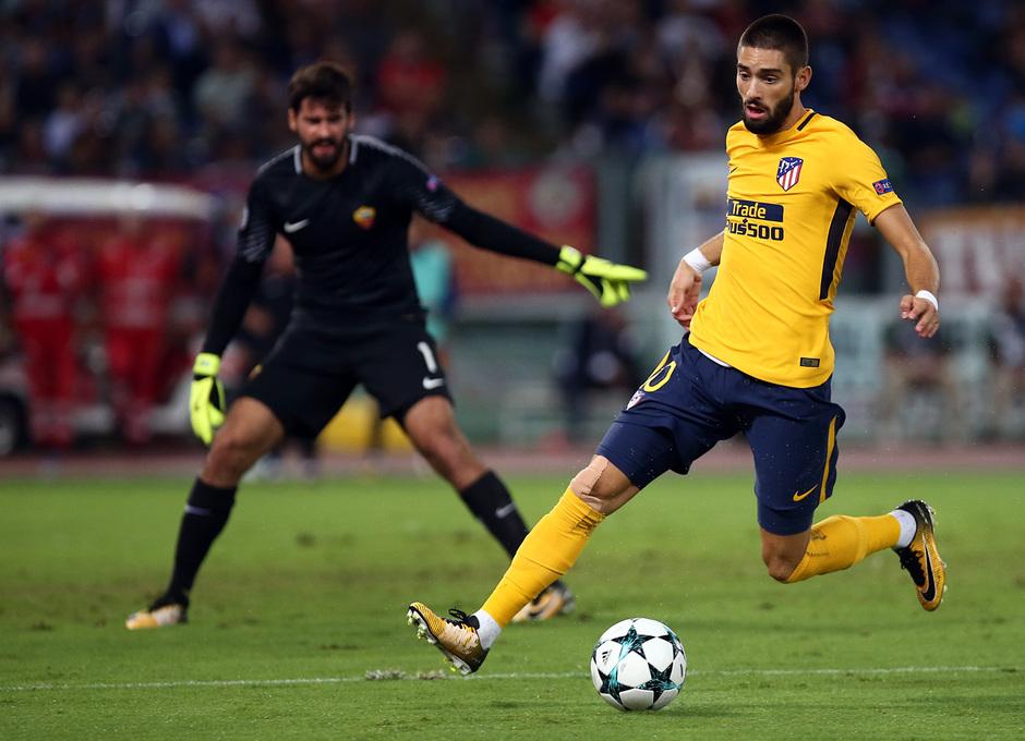 Temp. 17-18   Roma- Atlético de Madrid   Carrasco