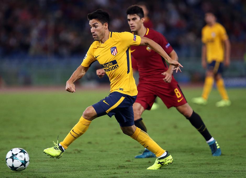 Temp. 17-18 | Roma- Atlético de Madrid | Gaitán