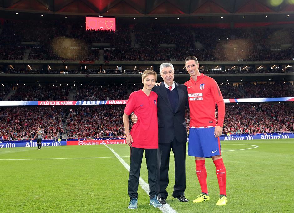 Temp. 17-18 | Atlético de Madrid-Málaga | Gárate, Hugo y Torres