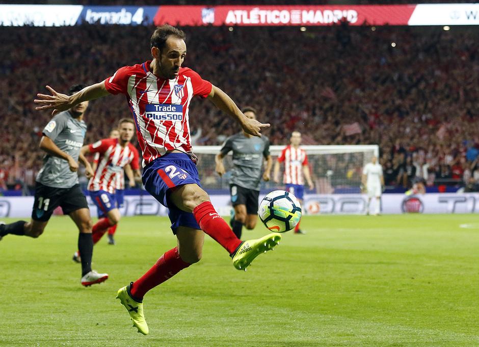 Temp. 17-18 | Atlético de Madrid-Málaga | Juanfran
