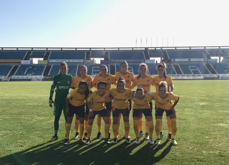 Temp. 17-18 | Santa Teresa-Atlético de Madrid Femenino | Once